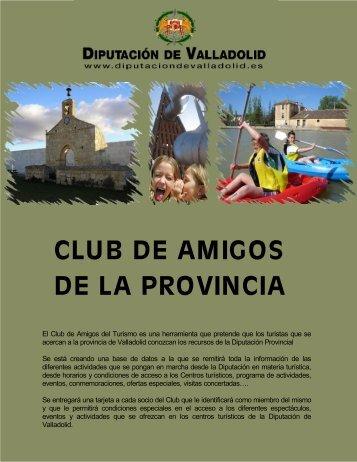 CLUB DE AMIGOS DE LA PROVINCIA - Diputación de Valladolid