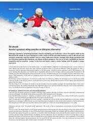 Ski amadé Austria's greatest skiing paradise on 860 piste kilometres