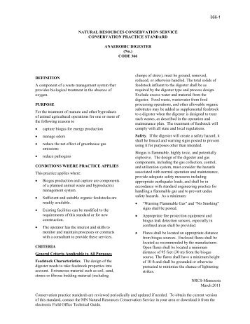 NATURAL RESOURCES CONSERVATION SERVICE DRAFT ...