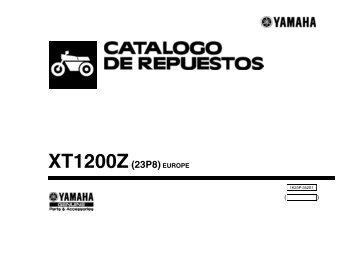 XT1200Z(23P8)EUROPE - Yamaha Motor de México