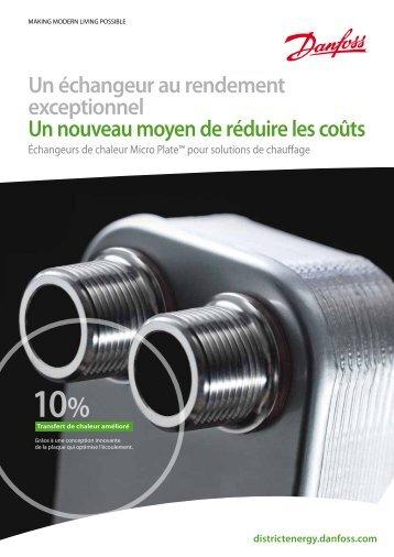 Voir notre brochure sur les MPHE™ (PDF) - Danfoss Chauffage