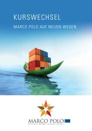 Kurswechsel-Marco Polo auf neuen Wegen - Enterprise Europe ...