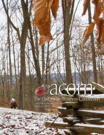 First quarter 2012 - Oak Ridge Chamber of Commerce