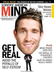 Scientific American Mind - September - October 2013
