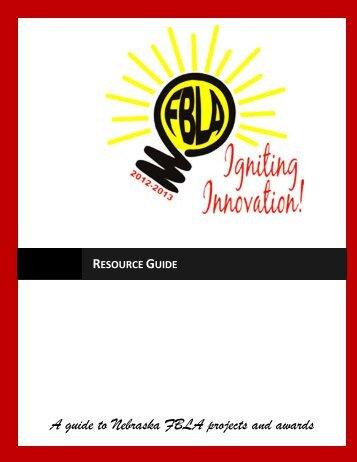 Resource Guide - Nebraska FBLA