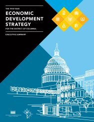 economic development strategy - Washington, District of Columbia