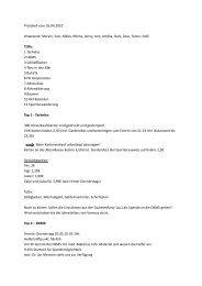 Fachschafts Protokoll vom 26.04.10 - Institut für Sport und ...