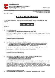Gemeinderatsbeschlüsse vom 02. Februar 2004 - .PDF