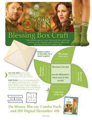 Blessing Box Craft