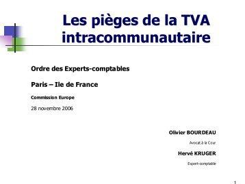 Les pièges de la TVA intracommunautaire - Ordre des experts ...