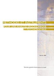Méthodes et instruments pour une analyse ergonomique et ...