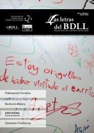 boletín informativo del barrio de las letras. Volumen 7, Octubre 2009