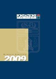 Bilancio 2009 - Fondazione Cassa di Risparmio di Carpi