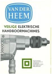 Boormachine HBM 83 e.v. - Van der Heem & Bloemsma