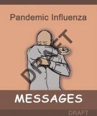 Pandemic Influenza Messages - AI.Comm