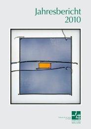 Jahresbericht 2010 -  Stiftung Eben-Ezer