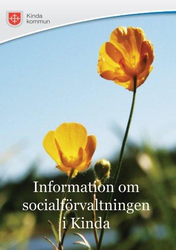 Information om socialförvaltningen i Kinda - Kinda Kommun