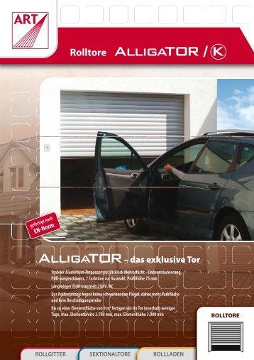 Garagentor Aligator