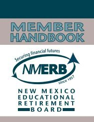 Service Credit - Educational Retirement Board