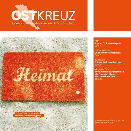 Gemeindebrief Ostkreuz – Sonderausgabe - Evangelische ...