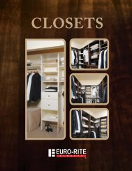 Design Your Own Closet! - Euro-Rite Cabinets