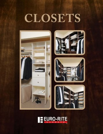 Design Your Own Closet! - Euro-Rite Cabinets