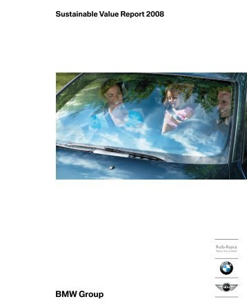 Sustainable Value Report 2008 - Econsense