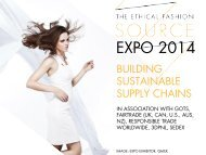 EXPO 2014 Building Sustainable Supply Chains