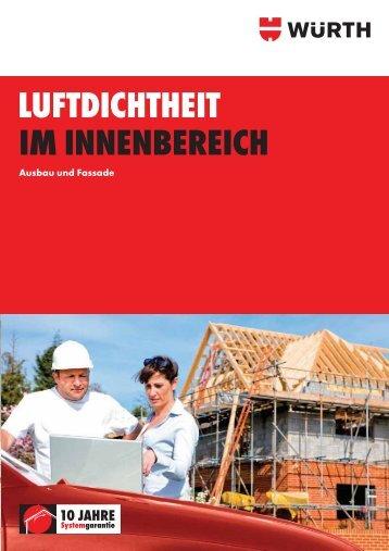 LUFTDICHTHEIT IM INNENBEREICH - Würth