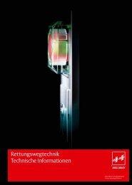 Rettungswegtechnik-Gesamtkatalog - EffEff