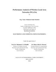 Performance Analysis of Wireless Local Area Networks (WLANs)