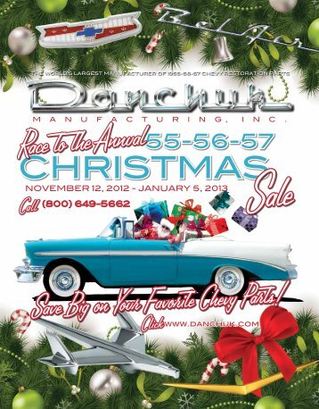 Flyer 18.4 Christmas Sale 2012 - Danchuk