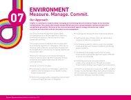 Chapter 07 : ENVIRONMENT Measure. Manage. Commit. - SingTel