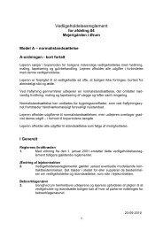 Vedligeholdelsesreglement for afdeling 701 Mejerigården