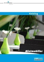 Mietmobiliar - HSG Zander Event Services GmbH