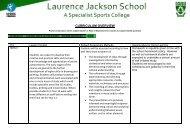 KS4 GCSE Art & Design - Laurence Jackson School
