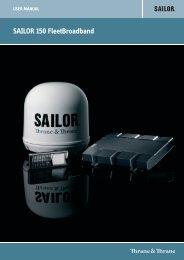 SAILOR 150 FleetBroadband - GMPCS Personal Communications Inc.