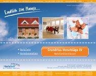 Grundrisse Doppelhaeuser und Häuser mit Einliegerwohnung