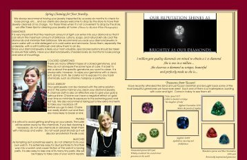 Download 3.68 MB PDF file - The King's Jewelers