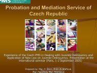 Probation and Mediation Service of Czech Republic
