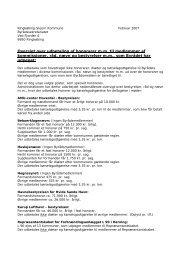 Oversigt over udbetaling af honorarer m.m. til medlemmer af ...