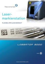 Laser- markierstation - Technifor