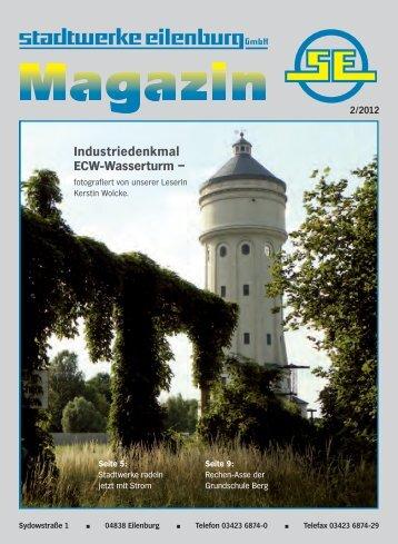 Industriedenkmal ECW-Wasserturm – - Stadtwerke Eilenburg