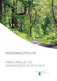 PERSONALEPOLITIK - Vordingborg Kommune