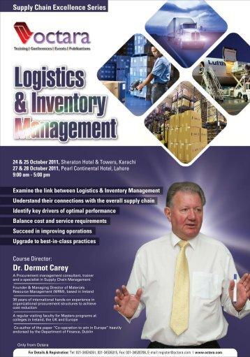 Supply Chain Excellence Series Dr. Dermot Carey - Octara.com