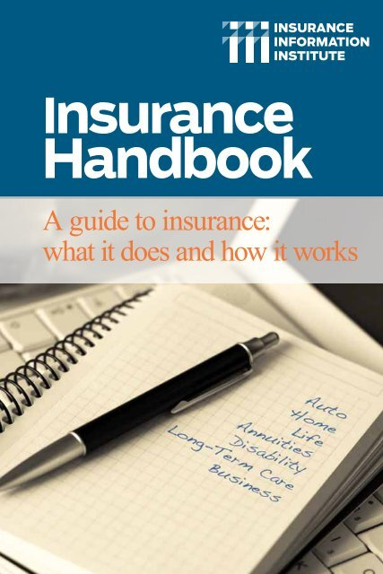Insurance Handbook Alaska Department Of Community And