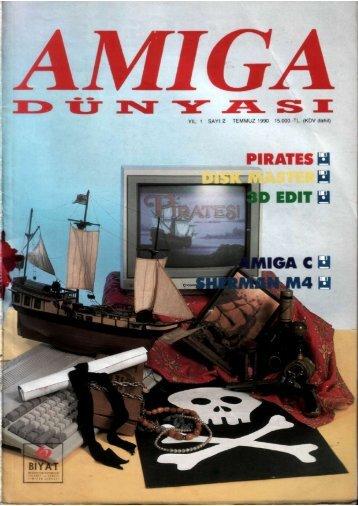 Amiga Dunyasi - Sayi 02 (Temmuz 1990).pdf - Retro Dergi