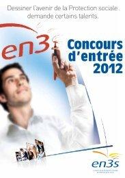 Concours d'entrée 2012 - L'Etudiant