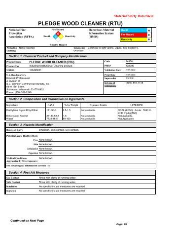 Safety Data Sheet Accord