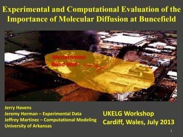Experimental and Computational Evaluation of the ... - ukelg